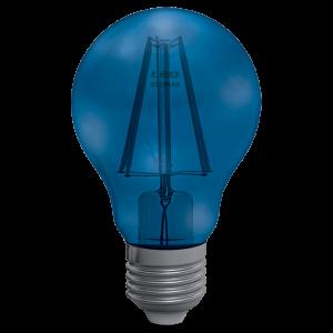 Goccia Filamento Clear 4W E27 Decor Blue