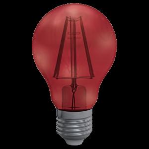 Goccia Filamento Clear 4W E27 Decor Red