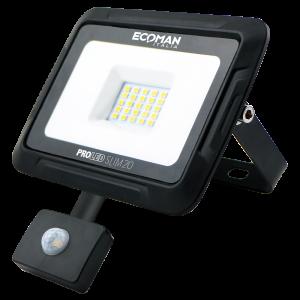 Proiettore Slim 20W Sensor Luce Naturale