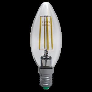 Candela Filamento Clear 6W E14 Luce Calda