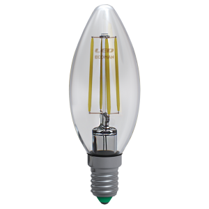 Candela Filamento Clear 6W E14 Luce Naturale