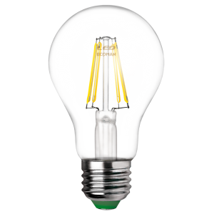 Goccia Filamento Clear 8W E27 Tripack Luce Naturale