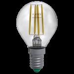Sfera Filamento Clear 6W E14 Luce Calda