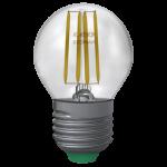 Sfera Filamento Clear 6W E27 Luce Calda